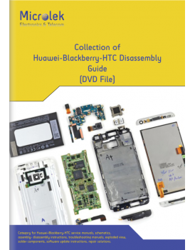 COLLECTION OF HUAWEI-BLACKBERRY-HTC DISASSEMBLY GUIDE