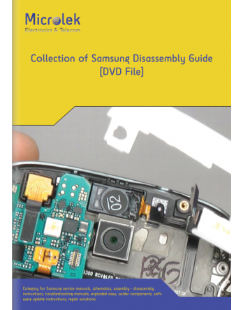 COLLECTION OF SAMSUNG DISASSEMBLY GUIDE (DVD)
