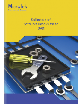 COLLECTION OF SOFTWARE REPAIRS VIDEO (DVD)
