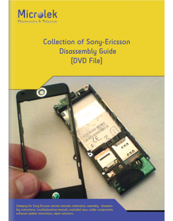 COLLECTION OF SONY-ERICSSON DISASSEMBLY GUIDE